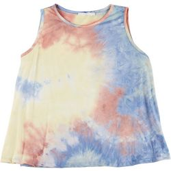 Lush Plus Tie Dye Sleeveless Tank