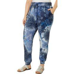 Como Blu Tie Dye Jogger Pants