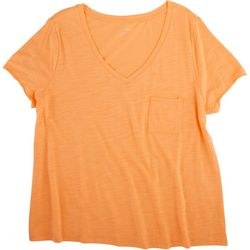 Dept 222 Plus Luxey V-Neck Chest Pocket T-Shirt