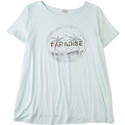 Flora & Sage Plus Paradise T-Shirt