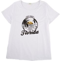 Flora & Sage Plus Florida Sunset T-Shirt