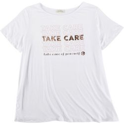 Flora & Sage Plus Take Care Of Yourself T-Shirt