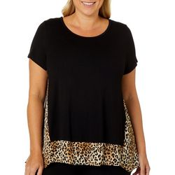 Nouvida Plus Leopard Detail High-Low Top