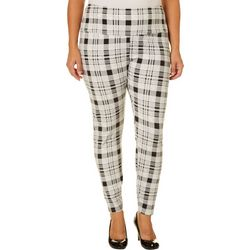 Khakis & Co Plus Suave Plaid Ghost Lace Pants