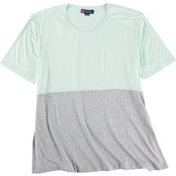 Indigo Poppy Plus Two Toned Solid Shirt
