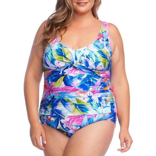 12ac605ac2efb Maxine Plus Potpourri Mio One Piece Swimsuit   Bealls Florida