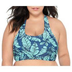 Hot Water Juniors Plus Lush Tropics Swim Top