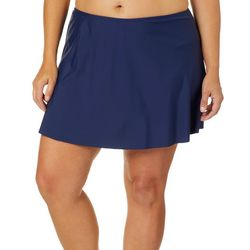 St. Tropez Plus Solid Swim Skirt
