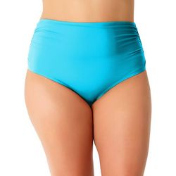 Anne Cole Plus Live In Color High Waist Swim Bottoms