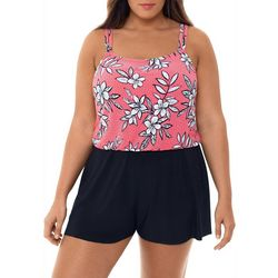 Paradise Bay Plus Catalina Romper One Piece Swimsuit