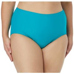 Coco Reef Plus Classic Solid High Waist Swim Bottoms