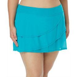 Coco Reef Plus Solid Mesh Layer Swim Skirt