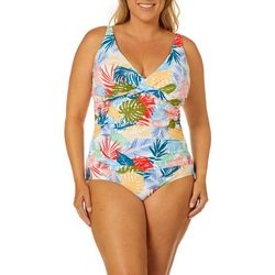 Emerald Bay Plus Fawn Mio One Piece Swimsuit