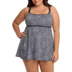 Longitude Plus Claudette Empire Princess Seam Swimdress
