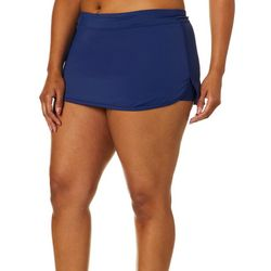 Reel Legends Plus Solid Swim Skirt