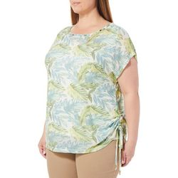 Hearts of Palm Plus Island Treasures Palm Leaf Mesh Top