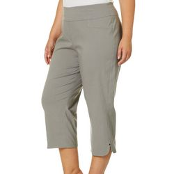 Hearts of Palm Plus Blush Hour Tech Stretch Capris