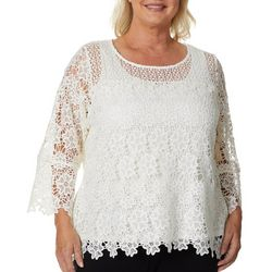 Hearts of Palm Plus Rue De La Rue Lace Top