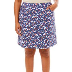 Hearts of Palm Plus Bright Ideas Tech Stretch Skort