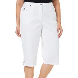 Hearts of Palm Plus Essentials Solid Capris