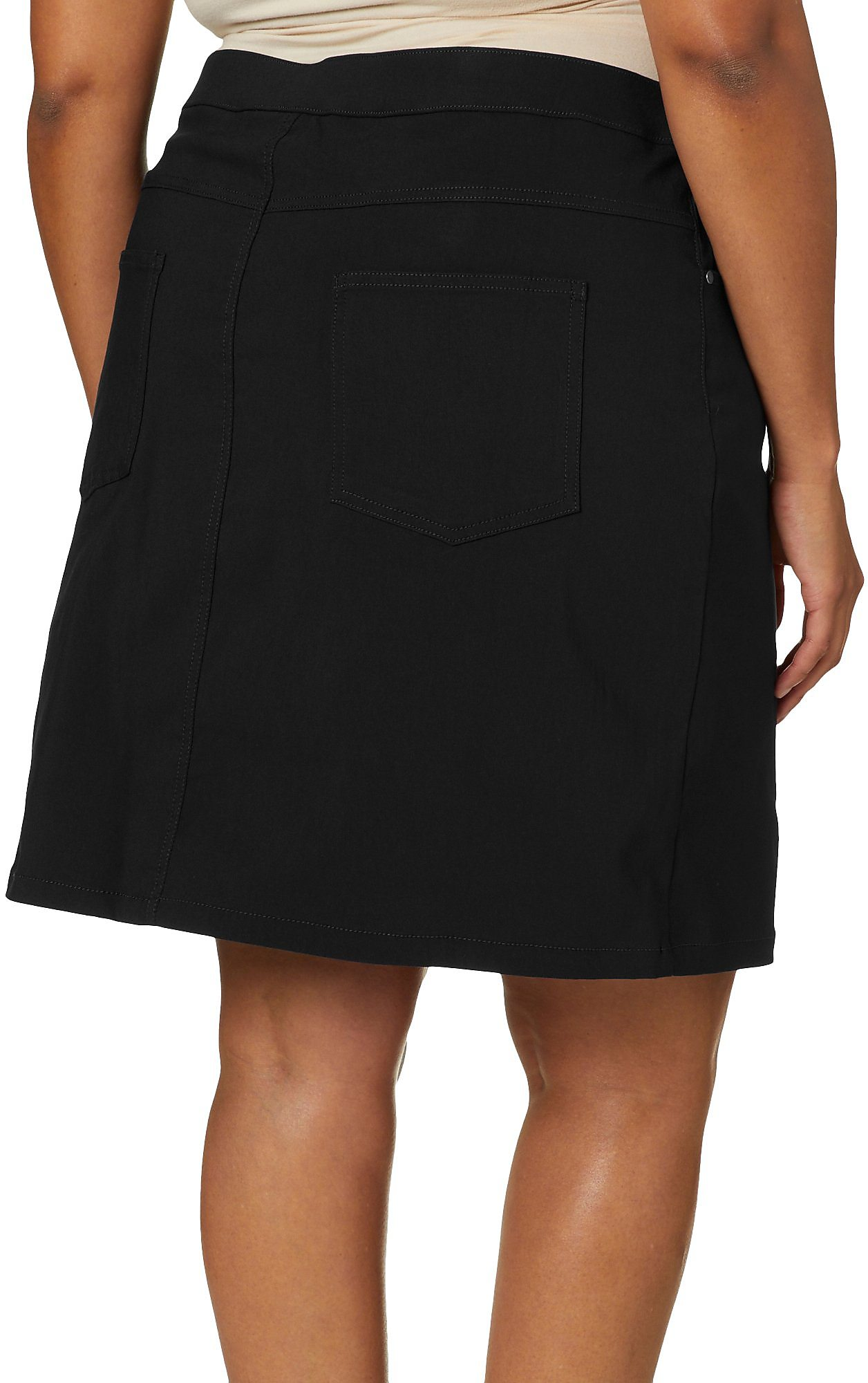Hearts of Palm Womens Essential Solid Tech Stretch Skort