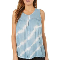 Dept 222 Petite Tie Dye Sleeveless Top