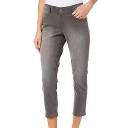 Dept 222 Petite Solid Crop Jeans