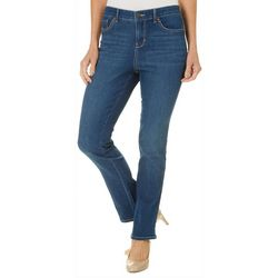 Gloria Vanderbilt Petite Willow Straight Leg Jeans
