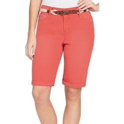Gloria Vanderbilt Petite Joslyn Bermuda Shorts