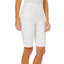 Gloria Vanderbilt Petite Avery Super Stretch Solid Capris