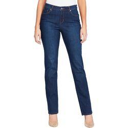Gloria Vanderbilt Petite Rail Straight Leg Jeans