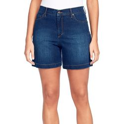 Gloria Vanderbilt Petite Amanda Solid Denim Shorts