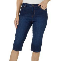 Gloria Vanderbilt Petite Amanda Denim Skimmer Shorts
