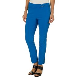 Rafaella Petite Solid Super Stretch Ankle Pants