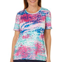 Coral Bay Energy Petite Painted Dot Top