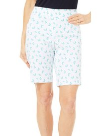 Coral Bay Petite Millennium Butterfly Shorts