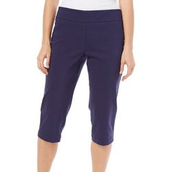 Coral Bay Petite Millennium Stretch Pull On Capris