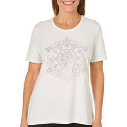 Coral Bay Petite Jewel Medallion Top