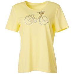 Coral Bay Petite Jewel Embellished Bicycle Top