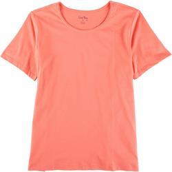 Petite So Basic Short Sleeve Top
