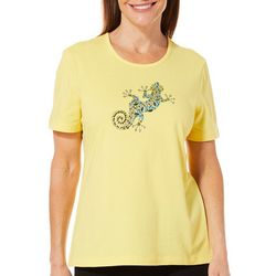 Coral Bay Petite Jeweled Salamander Top