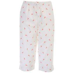 Coral Bay Petite We Got Flamingos Everywhere Capris