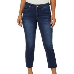 Royalty by YMI Petite Vintage Straight Leg Ankle Jeans