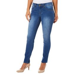 Royalty by YMI Petite WBB Skinny Denim Jeans