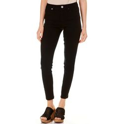Royalty by YMI Petite Solid Hyper-Stretch Ankle Jeans