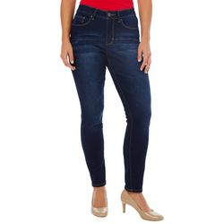 Royalty by YMI Petite Slim Fit No Muffin Top Ankle Jeans