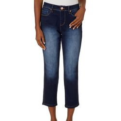 Royalty by YMI Petite Hide Your Muffin Top Ankle Jeans