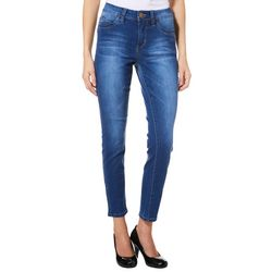 Royalty by YMI Petite Skinny Slim Fit Denim Jeans