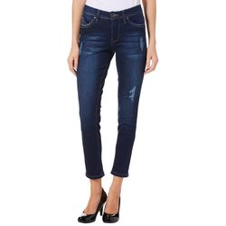 Royalty by YMI Petite WannaBettaButt Slim Fit Ankle Jeans