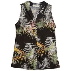 Lynn Ryan Petite Tropical Sleevless Top